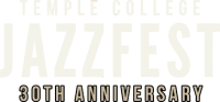 Temple College Jazz Fest Logo